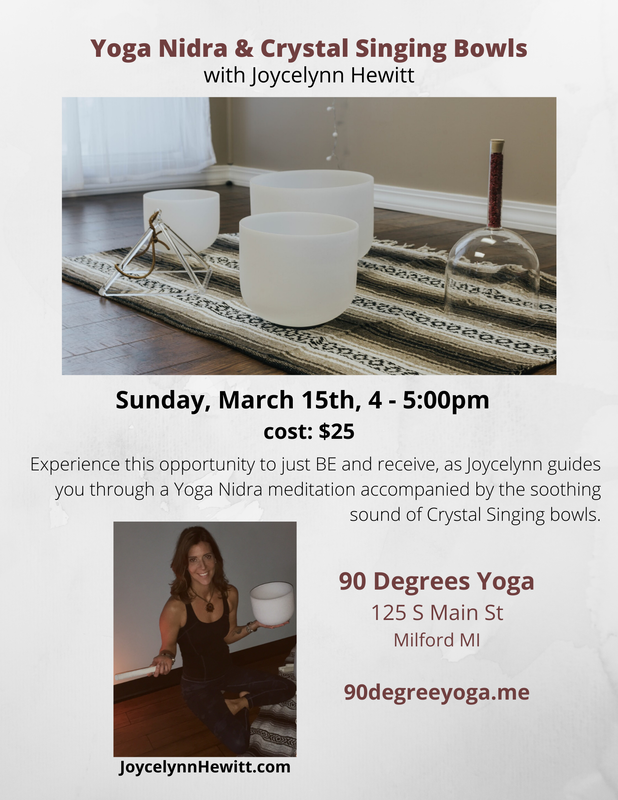 Yoga Nidra Guided Meditation Crystal Bowls Joycelynn Hewitt